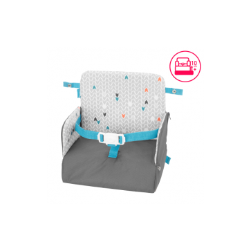 Badabulle - Yummy Travel 2-in-1 Booster Seat & Backpack