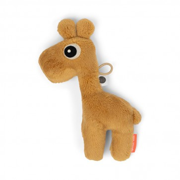 Done by Deer - Tiny sensory rattle Raffi Mustard