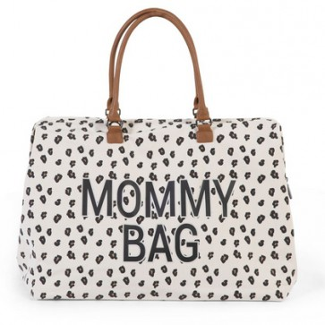Mommy Bag -  Big Canvas Leopard