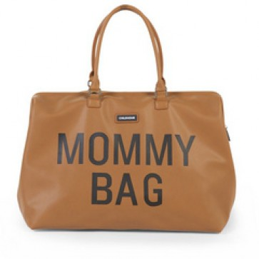 Mommy Bag - leatherlook brown