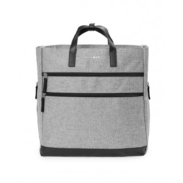 Trio Convertible Backpack- Heather Grey