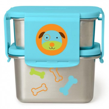 Zoo Stainless Steel Lunch Kit - Dog