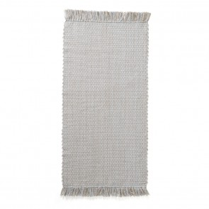 Rug Cotton Jute 70x140 Blue/grey
