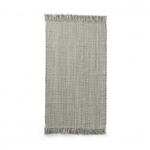 Rug Cotton Jute 70x140 Green