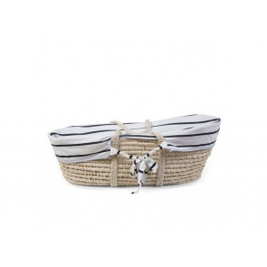Moses Basket Cover Jersey Marin