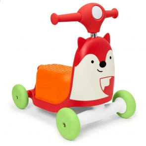 Zoo Ride-On Toy Fox