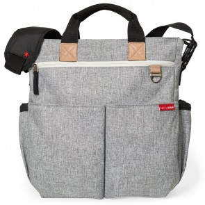 Diaper bag Duo Signature Grey Melange