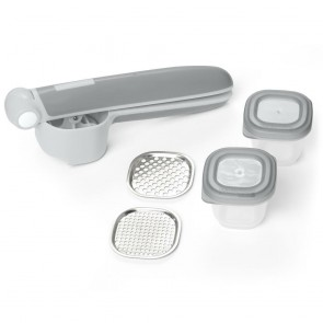 Easy-Prep Food Press Set-Grey