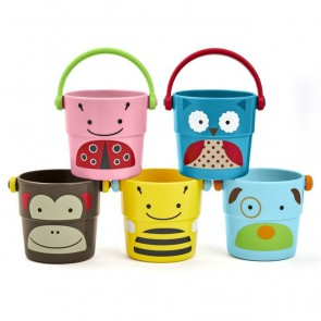 Skip Hop Vedra - ZOO Stack & Pour Buckets