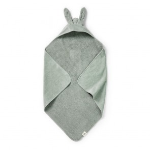 Hooded Towel - Mineral Green