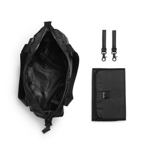 Changing Bag - Soft Shell Brilliant Black