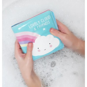 A Little Lovely Company - Bath book, Cloud & friends