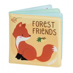 A Little Lovely Company - Bath book, Forest friends