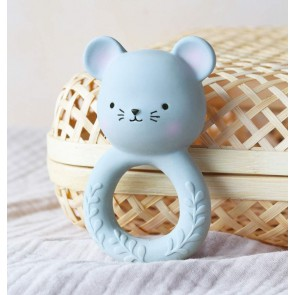 A Little Lovely Company - Teething ring Mouse