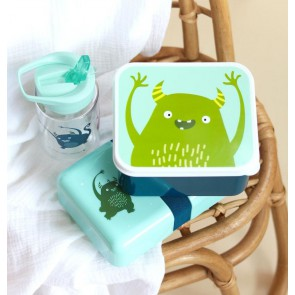 A Little Lovely Company - Lunch & snack box set Monsters