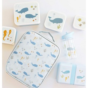 A Little Lovely Company - Lunch & snack box set Ocean