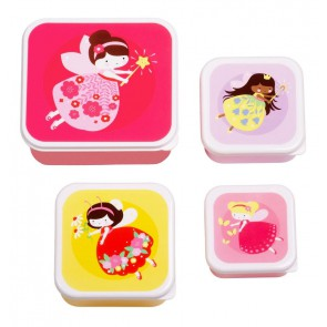 A Little Lovely Company - Lunch & snack box set Fairy