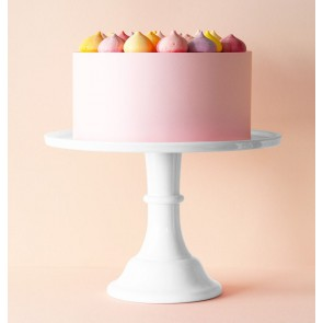 Cake stand: Large - white