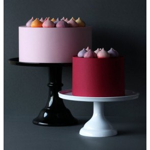 Cake stand: Large - black
