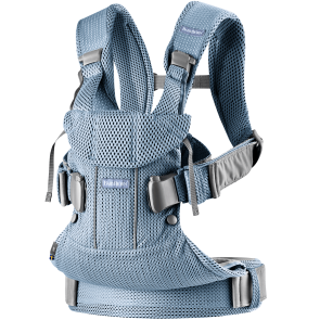 BabyBjörn - Baby Carrier One Air, Slate blue