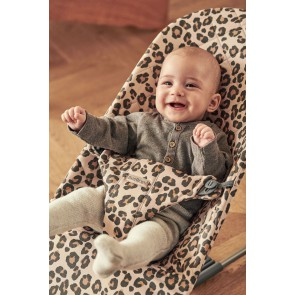 BabyBjörn - Bouncer Bliss, Beige/Leopard, Cotton