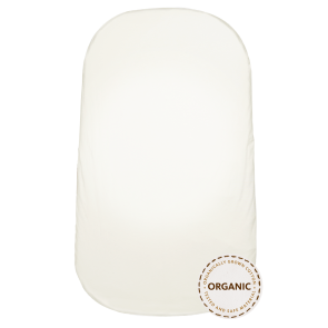 BabyBjörn - Fitted Sheet for Cradle,White, Organic