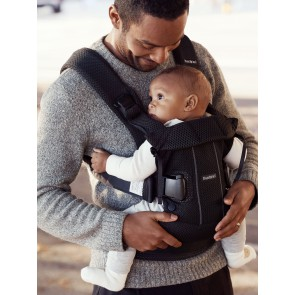BabyBjörn  - Baby Carrier One Air, Black, mesh