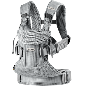 BabyBjörn Carrier - One Air, Silver, mesh