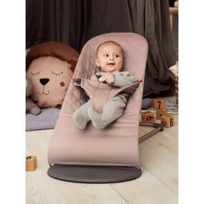 BabyBjörn Bouncer Bliss - Old rose, Cotton