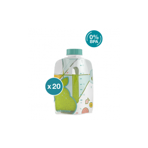 Babymoov - Foodii 20 Reusable Pouches