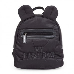 Childhome - Kids backpack My first bag, Puffered Black