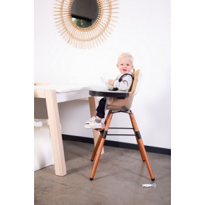 Childhome -  Evolu 2 high chair Dark Natural Frosted