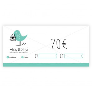 Gift card for 20€