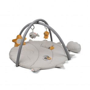 Done by Deer - Activity Play mat Sea friends Grey