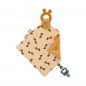 Done by Deer - Comfort teether Raffi Mustard