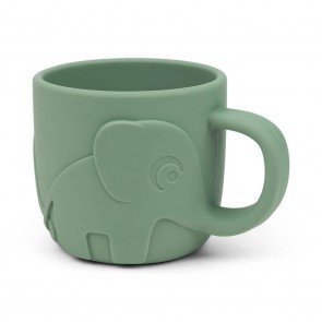 Done by Deer - Peekaboo silicone cup, Green