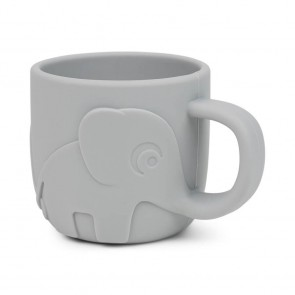 Done by Deer - Peekaboo silicone cup, Grey