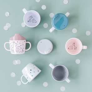 Done by Deer - Cup Dreamy dots Grey