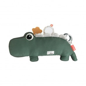 Done by Deer - Tummy time activity toy, Croco, green