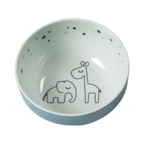 Done by Deer - Yummy mini bowl, Dreamy dots, blue