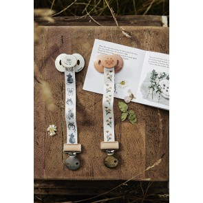 Elodie - Pacifier Clip Forest Mouse
