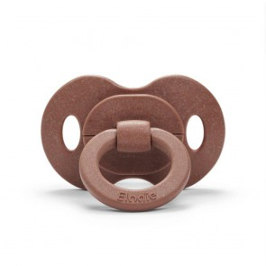 Elodie - Bamboo Pacifier, Burned Clay