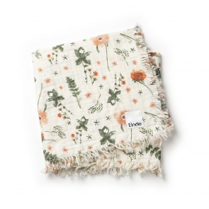 Elodie - Soft Cotton Blanket - Meadow Blossom