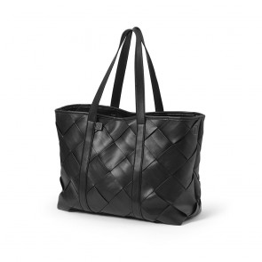 Elodie -Changing Bag Tote Braided Leather