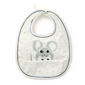 Baby Bib - Forest Mouse Max