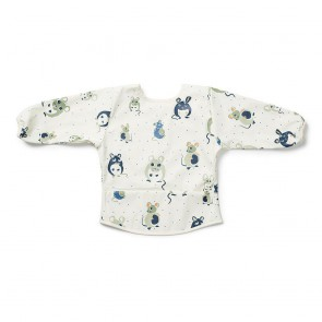 Longsleeve Baby Bib - Forest Mouse