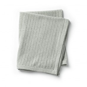 Elodie - Cellular Blanket - Mineral Green