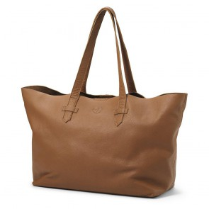 Elodie - Changing Bag, Chestnut leather - NEW LOGO