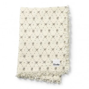 Soft Cotton Blanket - Monogram