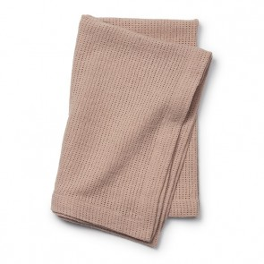 Elodie - Cellular Blanket, Powder Pink